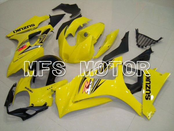 Suzuki GSXR1000 2007-2008 Injection ABS Fairing - Factory Style - Yellow - MFS5661