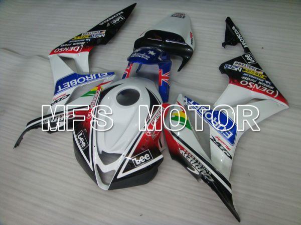 Honda CBR600RR 2007-2008 Injection ABS Fairing - Eurobet - Black White Red - MFS5664