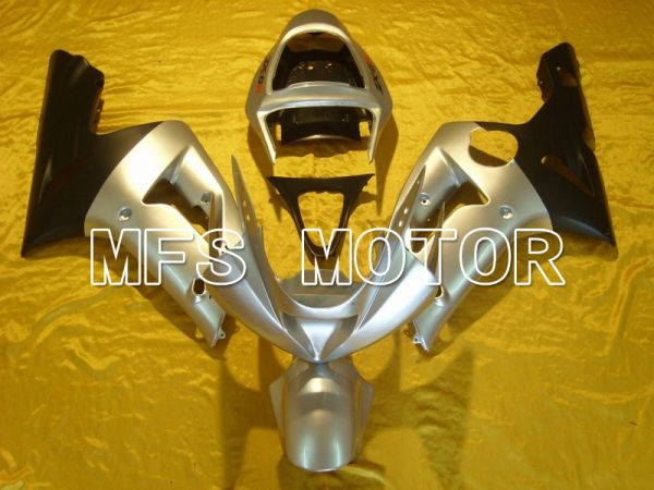 Kawasaki NINJA ZX6R 2003-2004 Injection ABS Fairing - Factory Style - Silver - MFS5667