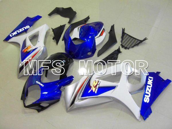 Suzuki GSXR1000 2007-2008 Injection ABS Fairing - Factory Style - White Blue - MFS5668