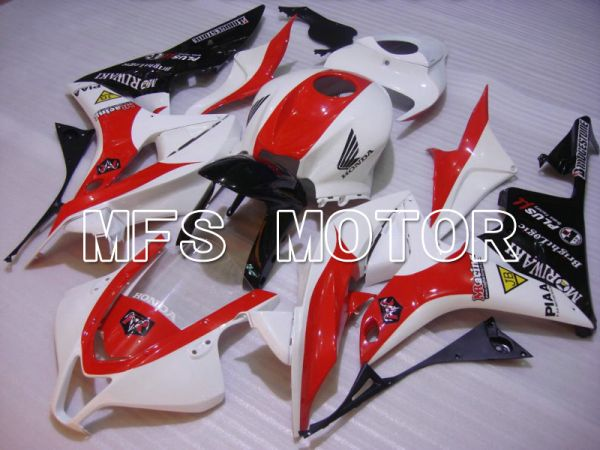 Honda CBR600RR 2007-2008 Injection ABS Fairing - Others - White Red - MFS5669