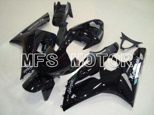 Kawasaki NINJA ZX6R 2003-2004 Injection ABS Fairing - Factory Style - Black - MFS5672