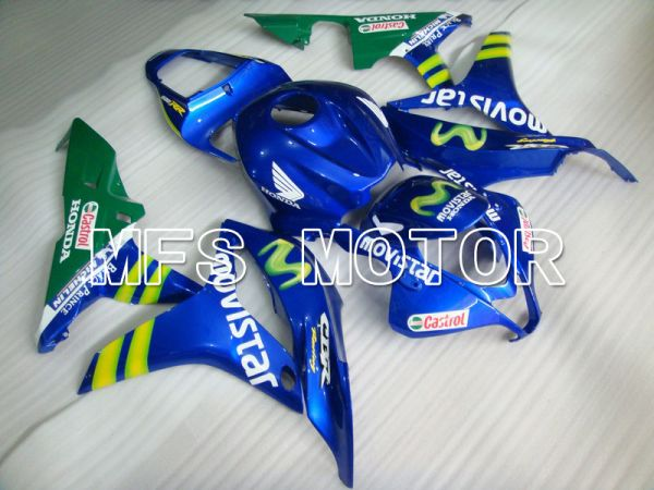 Honda CBR600RR 2007-2008 Injection ABS Fairing - Movistar - Green Blue - MFS5678
