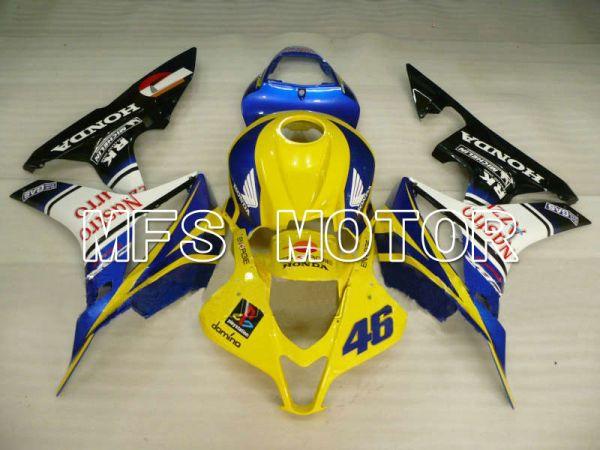 Honda CBR600RR 2007-2008 Injection ABS Fairing - Nastro Azzurro - Yellow Blue - MFS5682