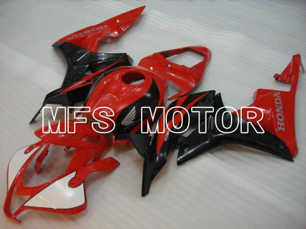 Honda CBR600RR 2007-2008 Injection ABS Fairing - Factory Style - Black Red - MFS5692
