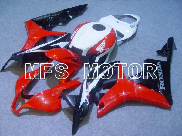 Honda CBR600RR 2007-2008 Injection ABS Fairing - Factory Style - Black Red - MFS5701