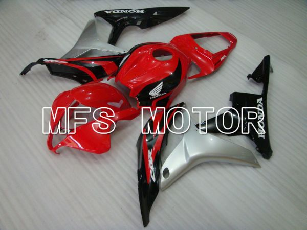 Honda CBR600RR 2007-2008 Injection ABS Fairing - Factory Style - Black Red - MFS5703