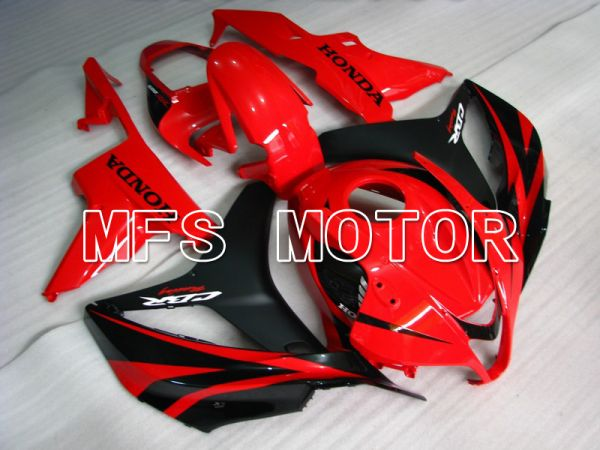 Honda CBR600RR 2007-2008 Injection ABS Fairing - Factory Style - Black Red - MFS5705