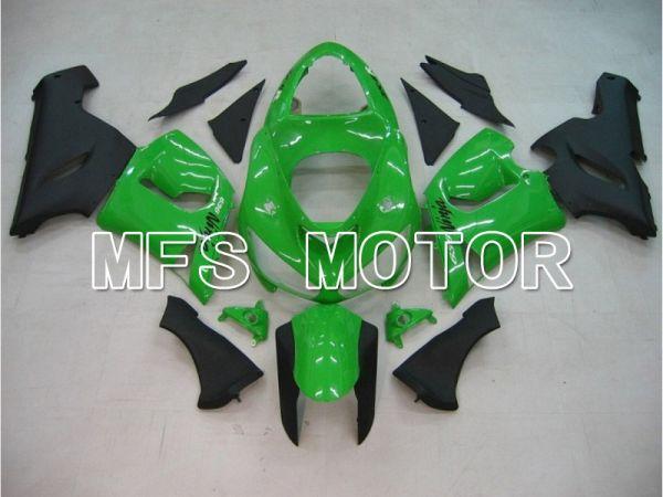 Kawasaki NINJA ZX6R 2005-2006 Injection ABS Fairing - Factory Style - Black Green - MFS5724