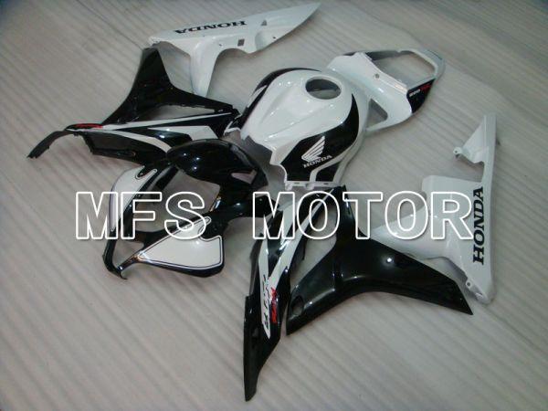 Honda CBR600RR 2007-2008 Injection ABS Fairing - Factory Style - Black White - MFS5732