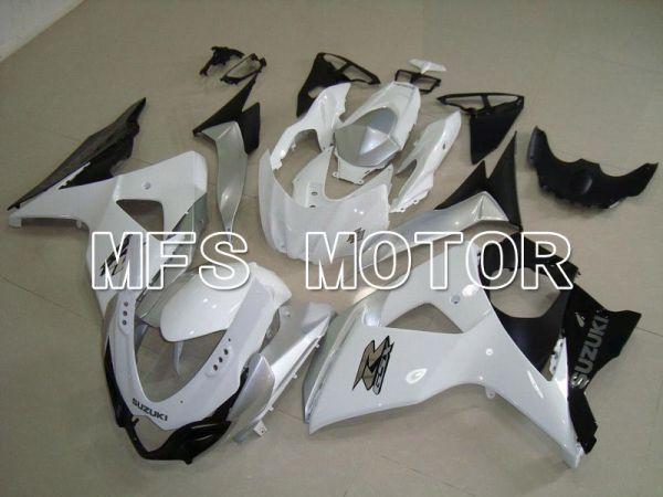Suzuki GSXR1000 2009-2016 Injection ABS Fairing - Factory Style - White - MFS5737