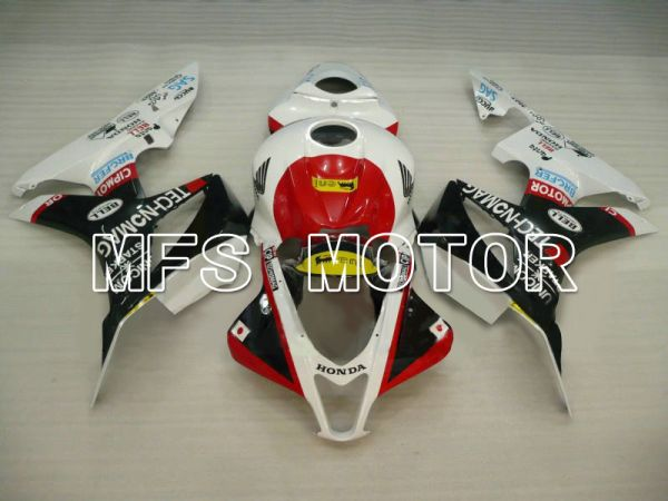 Honda CBR600RR 2007-2008 Injection ABS Fairing - Others - Black White - MFS5749
