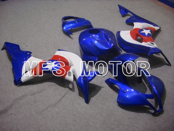 Honda CBR600RR 2007-2008 Injection ABS Fairing - Others - Blue White - MFS5759