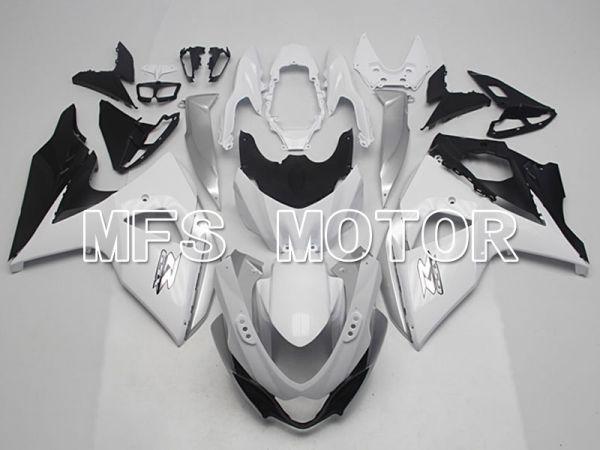 Suzuki GSXR1000 2009-2016 Injection ABS Fairing - Factory Style - Black Matte White - MFS5773