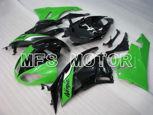 Kawasaki NINJA ZX6R 2009-2012 Injection ABS Fairing - Factory Style - Black Green - MFS5807