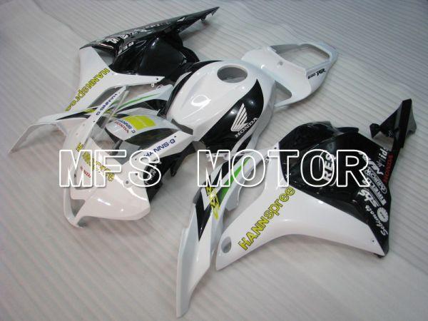 Honda CBR600RR 2009-2012 Injection ABS Fairing - HANN Spree - White Black - MFS5845