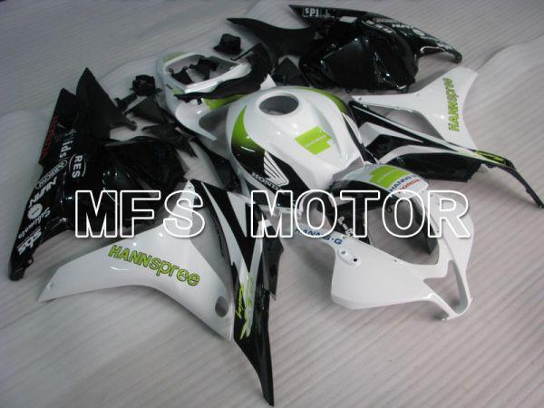 Honda CBR600RR 2009-2012 Injection ABS Fairing - HANN Spree - White Black - MFS5847