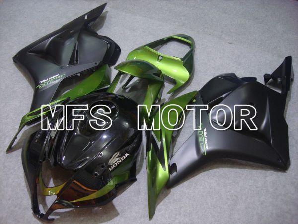 Honda CBR600RR 2009-2012 Injection ABS Fairing - Factory Style - Green Matte Black - MFS5855