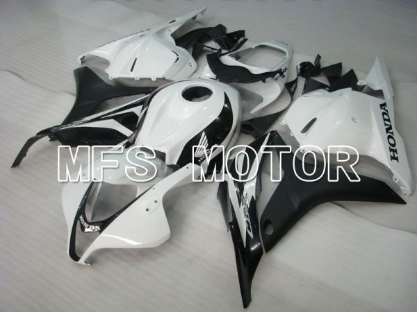 Honda CBR600RR 2009-2012 Injection ABS Fairing - Factory Style - Matte White Black - MFS5856