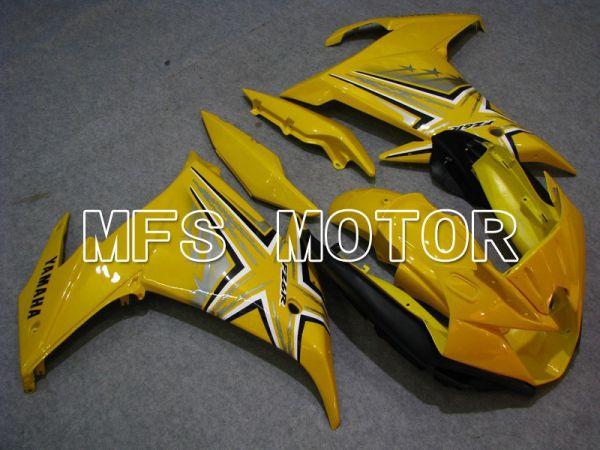 Yamaha FZ6R 2009 ABS Fairing - Factory Style - Yellow - MFS5862