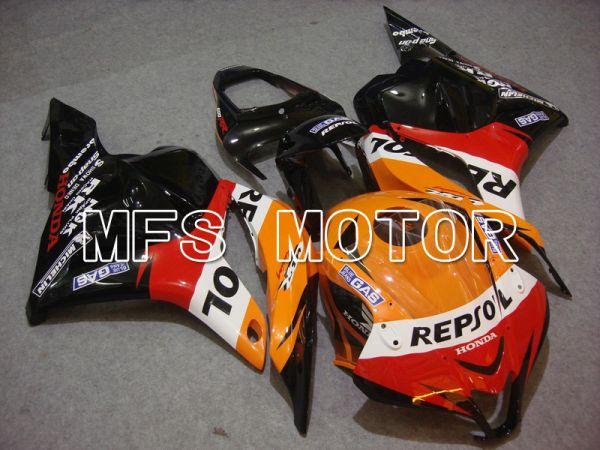 Honda CBR600RR 2009-2012 Injection ABS Fairing - Repsol - Orange Red Black - MFS5867