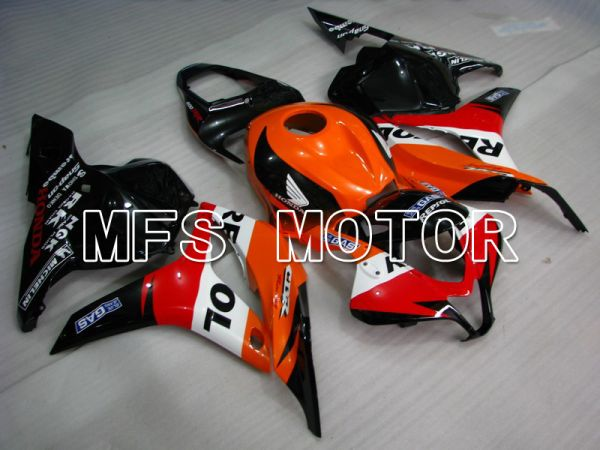 Honda CBR600RR 2009-2012 Injection ABS Fairing - Repsol - Orange Red Black - MFS5868