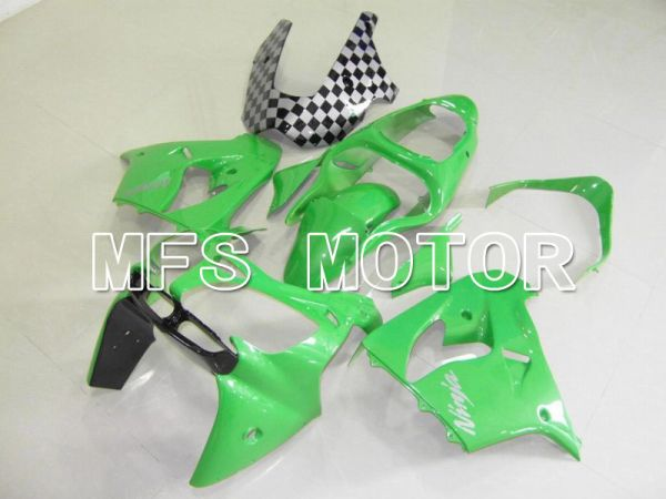Kawasaki NINJA ZX9R 2000-2001 ABS Fairing - Factory Style - Green - MFS5893