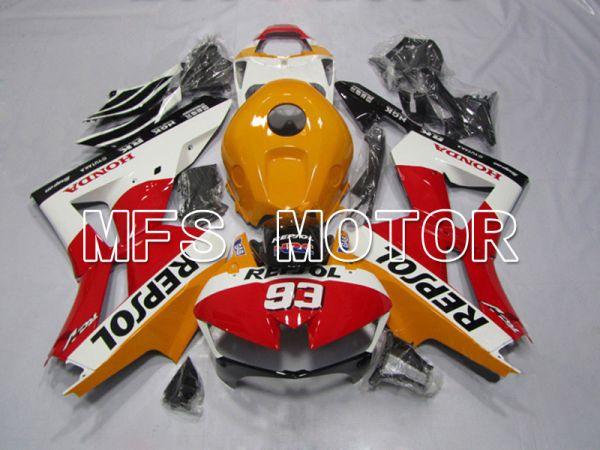 Honda CBR600RR 2013-2019 Injection ABS Fairing - Repsol - Orange Red Black - MFS5901