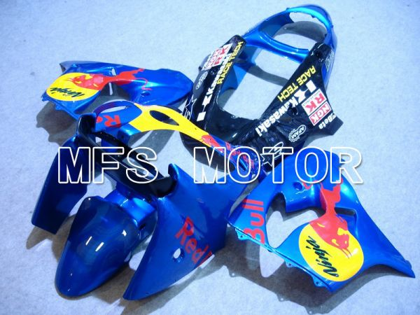 Kawasaki NINJA ZX9R 2000-2001 ABS Fairing - Red Bull - Blue - MFS5908