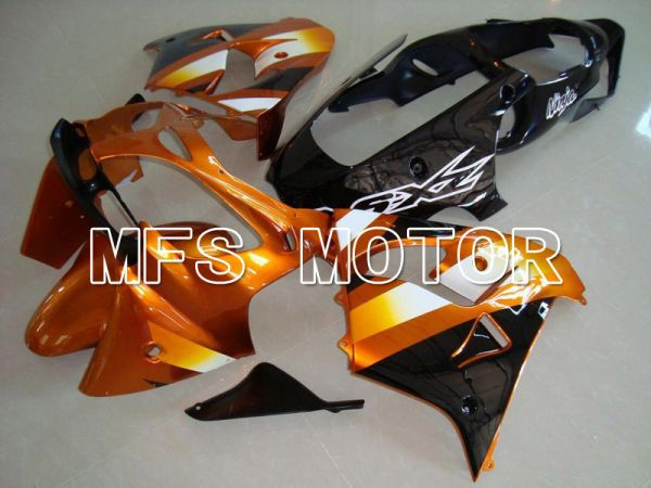 Kawasaki NINJA ZX9R 2000-2001 ABS Fairing - Factory Style - Black Orange - MFS5918