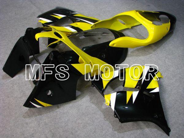 Kawasaki NINJA ZX9R 2000-2001 ABS Fairing - Factory Style - Black Yellow - MFS5919