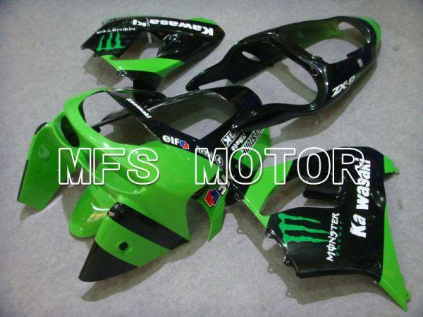 Kawasaki NINJA ZX9R 1998-1999 ABS Fairing - Monster - Green Black - MFS5928