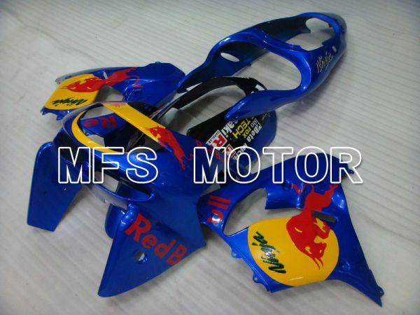 Kawasaki NINJA ZX9R 1998-1999 ABS Fairing - Red Bull - Blue - MFS5932
