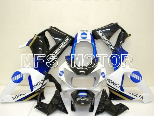 Honda CBR900RR 929 2000-2001 Injection ABS Fairing - Konica Minolta - Black White - MFS5936