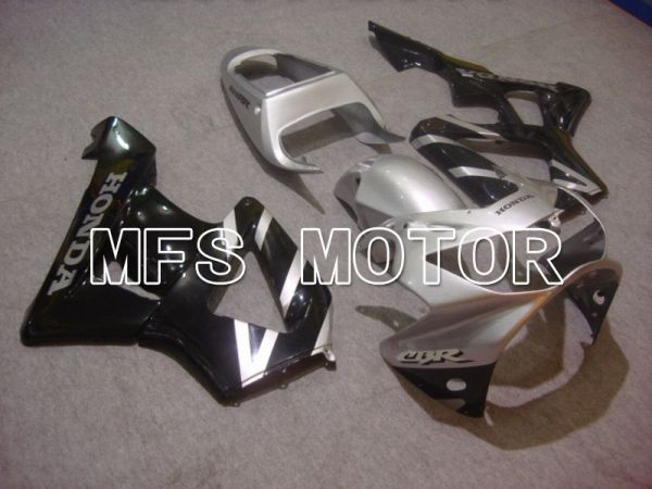 Honda CBR900RR 929 2000-2001 Injection ABS Fairing - Factory Style - Black Silver - MFS5941