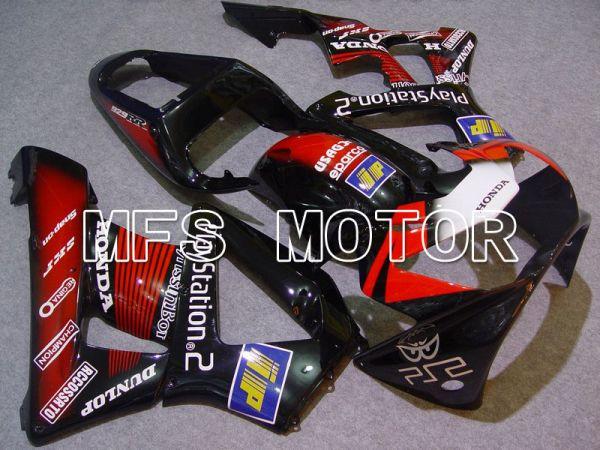 Honda CBR900RR 929 2000-2001 Injection ABS Fairing - Play Station - Black Red - MFS5945