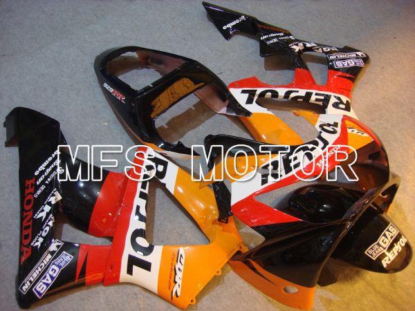 Honda CBR900RR 929 2000-2001 Injection ABS Fairing - Repsol - Black Orange Red - MFS5958