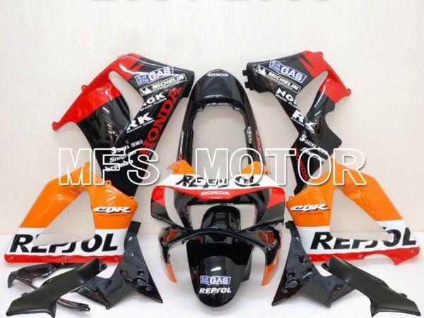 Honda CBR900RR 929 2000-2001 Injection ABS Fairing - Repsol - Black Orange Red - MFS5959