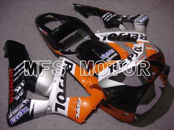 Honda CBR900RR 929 2000-2001 Injection ABS Fairing - Repsol - Black Silver Red - MFS5962