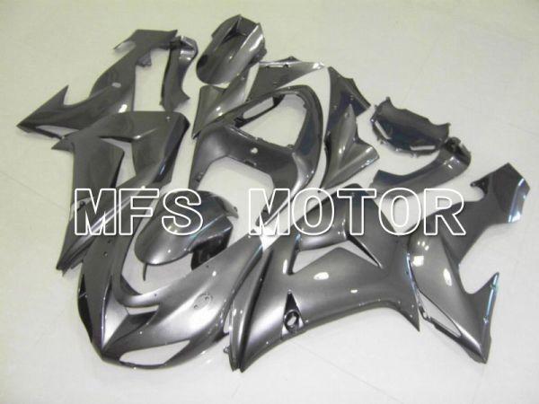 Kawasaki NINJA ZX10R 2006-2007 Injection ABS Fairing - Factory Style - Gray - MFS5965
