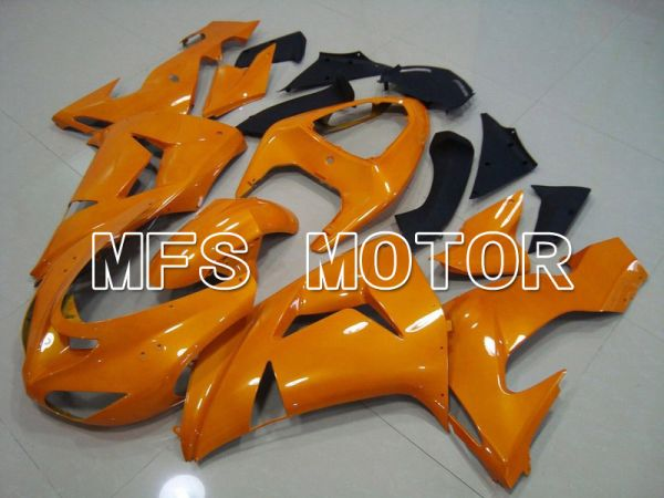 Kawasaki NINJA ZX10R 2006-2007 Injection ABS Fairing - Factory Style - Orange - MFS5993