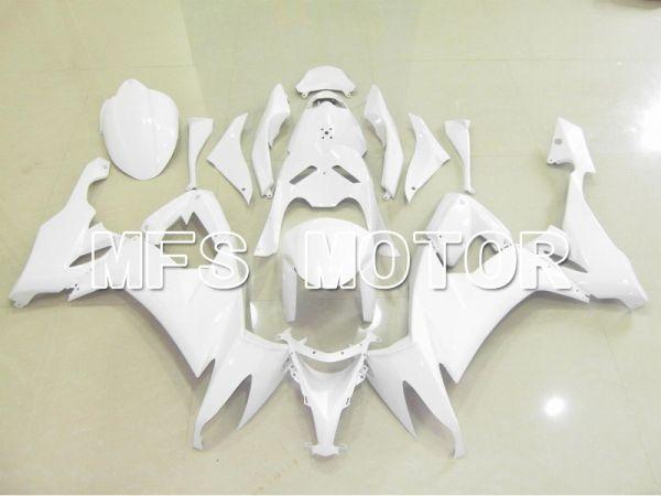 Kawasaki NINJA ZX10R 2008-2010 Injection ABS Fairing - Factory Style - White - MFS5999