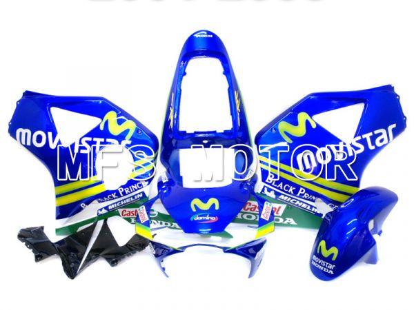 Honda CBR900RR 954 2002-2003 Injection ABS Fairing - Movistar - Blue - MFS6004