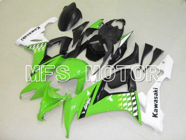 Kawasaki NINJA ZX10R 2008-2010 Injection ABS Fairing - Factory Style - Black Green White - MFS6007