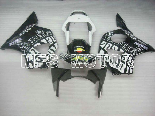 Honda CBR900RR 954 2002-2003 Injection ABS Fairing - Rossi - Black White - MFS6029