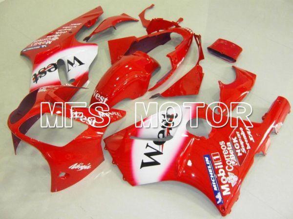 Kawasaki NINJA ZX12R 2000-2001 Injection ABS Fairing - West - Red White - MFS6051