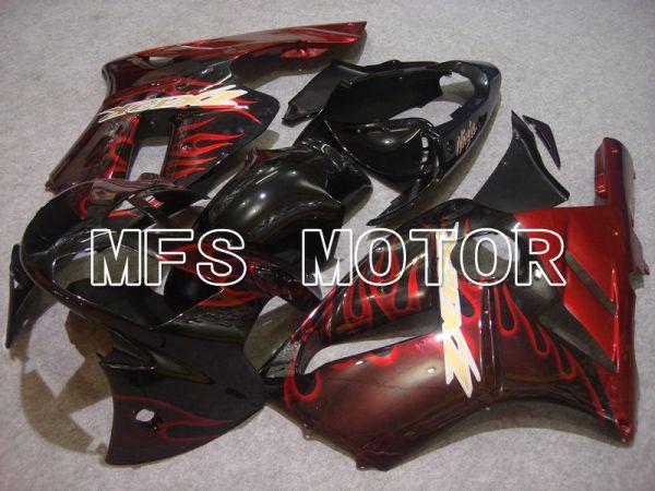 Kawasaki NINJA ZX12R 2002-2005 Injection ABS Fairing - Flame - Red wine color - MFS6056