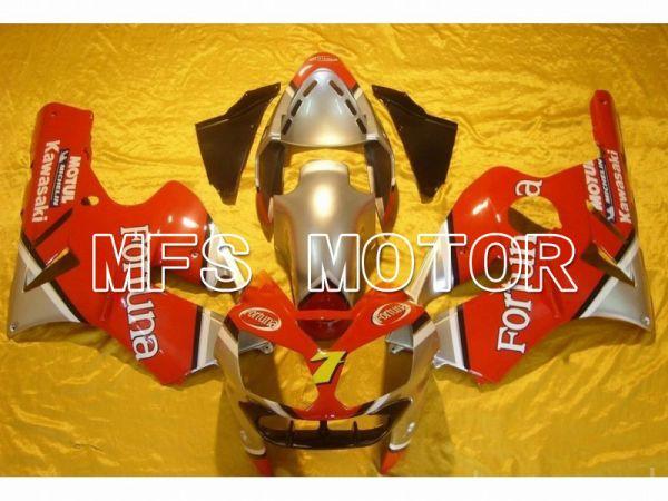 Kawasaki NINJA ZX12R 2002-2005 Injection ABS Fairing - Fortuna - Red Silver - MFS6063