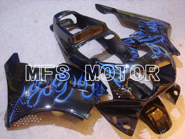 Honda CBR900RR 893 1992-1993 ABS Fairing - Flame - Black Blue - MFS6075