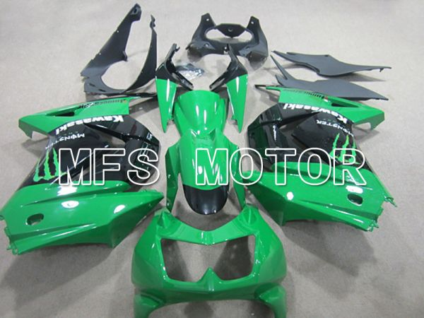Kawasaki NINJA EX250 2008-2012 Injection ABS Fairing - Monster - Black Green - MFS6141